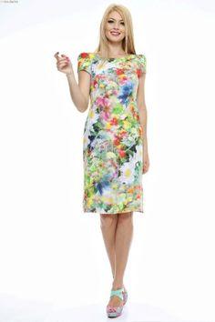 Rochie fluida imprimata cu maneci scurte suprapuse Lily Pulitzer, Summer Dresses, Fashion, Summer Sundresses, Moda, Sundresses, Fashion Styles, Lilly Pulitzer, Fashion Illustrations