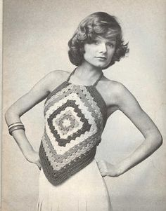 Handmade by Mother: Granny Square Wardrobe Malfunctions