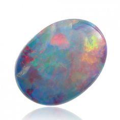 1.68ct Doublet Australian Opal Lightning Ridge, Doublet Loose Opal Piece Anderson-Beattie