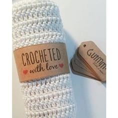 Toalha de mão 100% algodão - Crochê