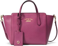 Gucci Swing Mini Crossbody Tote Bag, Pink