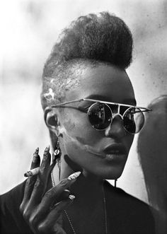 Delphine Diallo | fashion photography inspiration | fashion editorial | afro mohawk