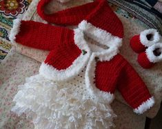 Etsy :: Your place to buy and sell all things handmade Crochet Baby Sweaters, Crochet Baby Clothes, Baby Knitting, Baby Mouse, Minnie Mouse, Baby Dress Clothes, Custom Baby Gifts, Baby Layette, Crochet Winter