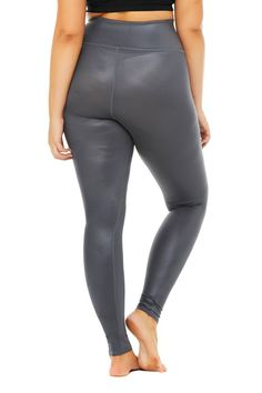 Power up your practice-to-pavement in the High-Waist Shine Airbrush Legging. It has all the same sculpting, smoothing benefits of your fave Airbrush legging — with an ultra-forward finish to take it to the next level. Lifts & sculpts! Sleek, high-shine finish Designed & uniquely fit to flatter every size Wear-tested by our in-house team for the perfect fit High-Waist Shine Legging Shine in Anthracite, Size: Small | Alo Yoga® #CelluliteCream Causes Of Cellulite, Cellulite Cream, Reduce Cellulite, Anti Cellulite, Wear Test, Skinny Guys, Improve Circulation, Body Cleanse, Cellulite Workout