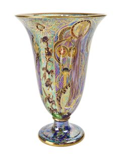 "A Wedgwood Fairyland Lustre ""Candlemas"" Vase 