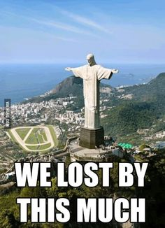 Germany tore up Brazil this much in the World Cup