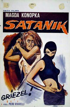 The adult fumetti of Satanik