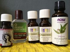Olivia Cleans Green: How to Clean with Essential Oils