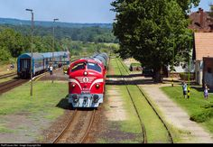 RailPictures.Net Photo: 2761-017 Hungarian State Railways (MÁV) M61 at Zánka-Köveskál, Hungary by Balázs Bálint Holland, Commercial Vehicle, Hungary, Vehicles, Beauty, Belgium, The Nederlands, Rolling Stock, Cosmetology
