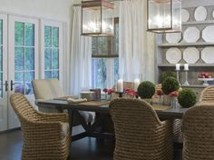 The Meridian Company Dining furniture as seen in Coastal Living   www.themeridiancompany.com