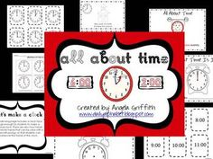 This is a great freebie to add to any beginning lesson on time. This packet focuses on time to the hour and half-hour.This packet includes:A Match ...