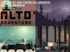 The Beautiful Alto's Adventure gets MFi Controller Support!