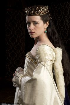 Henry's horrible history: You won't find any left-handers or extras in specs. Accuracy is king in the most eagerly anticipated TV event of the year. but how does Wolf Hall stand up to the scrutiny of one historian ?Claire Foy as Anne Boleyn Anne Boleyn, Beautiful Gowns, Beautiful Outfits, Elisabeth I, Little Dorrit, Wolf Hall, Damian Lewis, Tudor Dynasty, Henry Viii