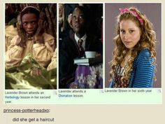 ...puberty does strange things to the harry potter cast.: