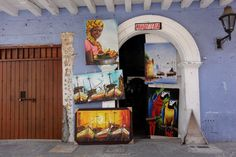 Pictuer Gallery shop in Cartagena
