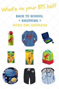 Win a Gift Card and Get More Rewards for Back to School Shopping! #rbcrewards101