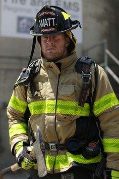 JJ Watt spends the day as a firefighter in his hometown