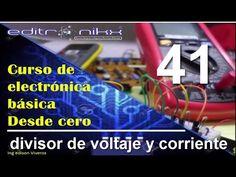 curso de electronica basica desde cero(# 41 divisor de voltaje y divisor de corriente) - YouTube