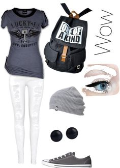 """""""Gray Madness"""" by abri7929 on Polyvore"""