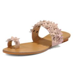 Buy 'yeswalker – Beaded Flower-Accent Toe Loop Sandals' with Free International Shipping at YesStyle.com. Browse and shop for thousands of Asian fashion items from Hong Kong and more!