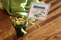 St. Patrick's Day Teacher Gift with printable