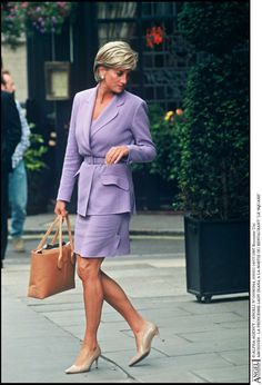 Diana~I love the color and style of suit.