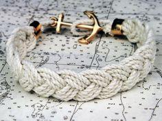 Bracelet on nautical chart