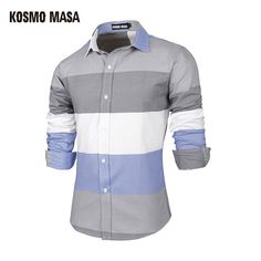Be effective with this product KOSMO MASA 2017 M... and stop doubting yourself, see it on Costbuys http://www.costbuys.com/products/kosmo-masa-2017-men-stripe-shirts-long-sleeve-cotton-slim-fit-french-cuff-casual-male-dress-shirt-m-xxl-1-piece-retail-mb0009?utm_campaign=social_autopilot&utm_source=pin&utm_medium=pin
