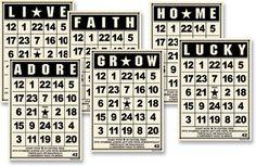 Jenni Bowlin Studio Mini Bingo ATC Cards - Vintage. so amazing!