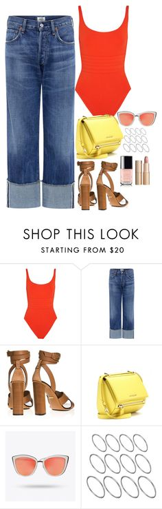 """""""Untitled #1789"""" by samikayy76 on Polyvore featuring Eres, Citizens of Humanity, Gucci, Givenchy, ASOS and Charlotte Tilbury"""