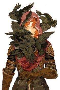 neuviemeart:  Dragon Age: Magekiller #4 - Cover by Sachin Teng