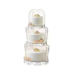 c947a0fc3714 Cake Stand - casa.com Wedding Cake Display, 3 Tier Wedding Cakes, Wedding