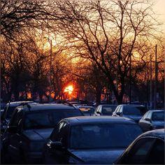 """house of rising sun ... #SunRise #Chicago #Pretty #Morning #Lovely #Morning #Breeze #Spring2016 #HappySaturday"""