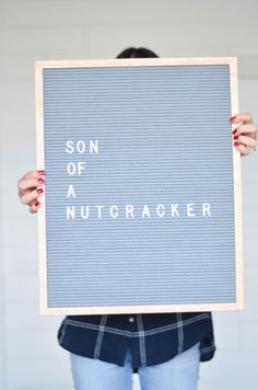 Holiday Gift Guide | Letter Folk | www.ourpolka.com