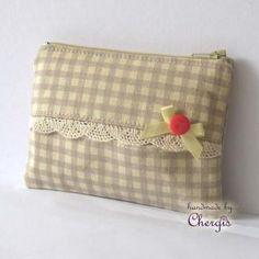 Tissue + coin Pouch / Cards pouch / Zipper Purse - 102-12