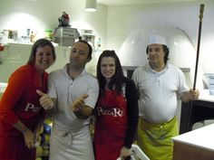Making my own Pizza in Rome, Italy