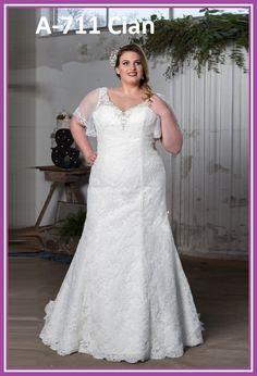 Vestidos de novia para gorditas tallas grandes