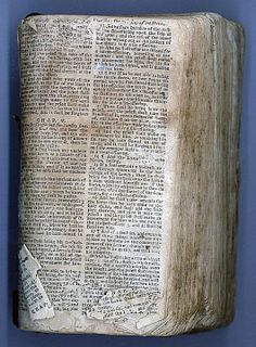 Nat Turner's Bible, National Museum of African American History and Culture.