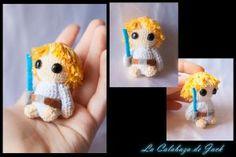 Luke Skywalker Amigurumi (Star Wars) By Cristell Justicia/La calabaza de Jack ->Follow my work: ~Facebook: https://www.facebook.com/LaCalabazaDeJack ~Tumblr: http://lacalabazadejack.tumblr.com/ ~Deviantart: cristell15.deviantart.com   #Amigurumi #Pattern #Crochet #Knitting #Yarn #Felt #Felted #Plush #Toy #Doll #Handmade #Craft #Luke #Skywalker #Star #Wars #Scifi #Film #Movie #Cute #Kawaii #Geek #Freak