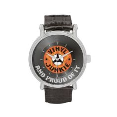 Vinyl Junkie - And Proud of It - Wrist Watch