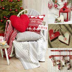 Vianoce v škandinávskom štýle Living Styles, Christmas Decorations, Holiday Decor, Christmas Stockings, Blanket, Decorating, Bed, Home Decor, Decoration
