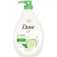 Dove go fresh Body Wash Cucumber and Green Tea Pump 34 oz -- Hurry! Check out this great product : All Natural Skin Care