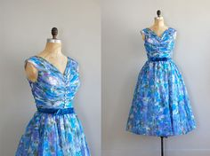 vintage 1950s Lighter Than Air dress