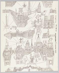 Sidewall, Views of Paris, 1946–50