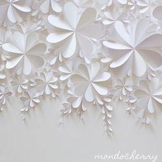 A small bite of mondocherry: white on white...