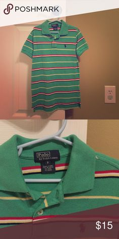 Boys Polo Ralph Lauren shirt Boys Polo shirt. Great condition! No stains! Polo by Ralph Lauren Shirts & Tops Polos