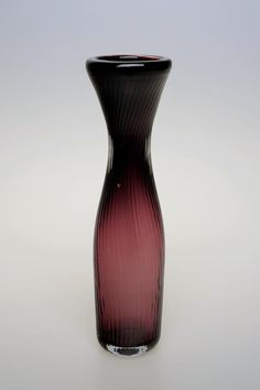 Miluse Roubickova, blown glass vase - object, H: cm, glassworks Skrdlovice, Czechoslovakia All Kinds Of Everything, Blown Glass, Czech Glass, Glass Art, Bohemian, Vase, How To Make, Inspiration, Beauty
