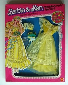1979 Barbie - Wedding Party Fashions #