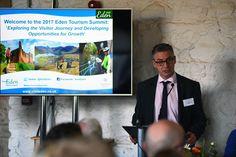 Councillor Kevin Beaty Leader, Eden District Counci at the 2017 Eden Tourism Summit