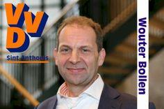 VVD Sint Anthonis. Lijst 3, Kandidaat 1: Wouter Bollen.